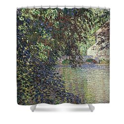 Water Mill At Limetz Shower Curtain
