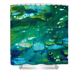 Water Movement Shower Curtain
