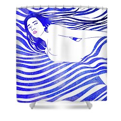 Water Nymph Xiv Shower Curtain