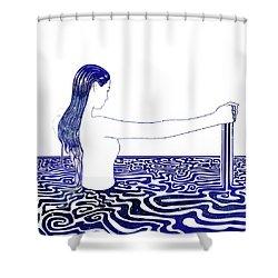 Water Nymph Xxvi Shower Curtain