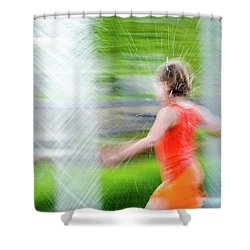 Water Park In The Summer Shower Curtain