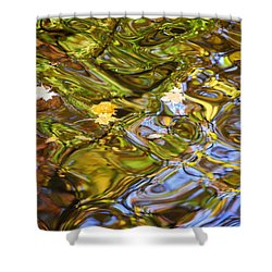 Water Prism Shower Curtain by Frozen in Time Fine Art Photography