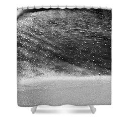 Water Ripples 1 Shower Curtain by Glenn Gemmell