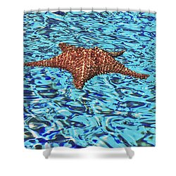 Water Ripples Shower Curtain
