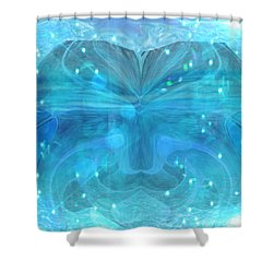 Water Spirit Shower Curtain