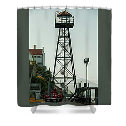 Water Tower Shower Curtain