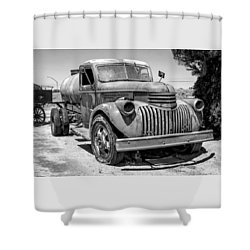 Water Truck - Chevrolet Shower Curtain
