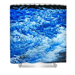 Shower Curtain featuring the photograph Water Under Glass by Jeanette French