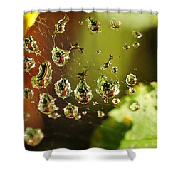 Water Universe Shower Curtain