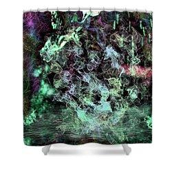 Water Visions Shower Curtain by Aliceann Carlton