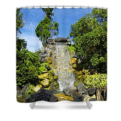 Water Works Shower Curtain