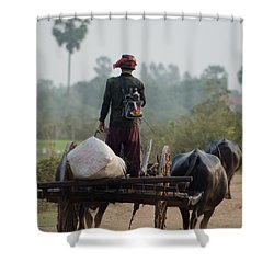 Waterbuffalo Driver With Angry Birds Tote Bag Shower Curtain