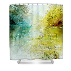 Watercolor 24465 Shower Curtain by Pol Ledent