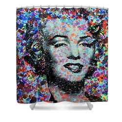 Watercolor Marilyn Shower Curtain