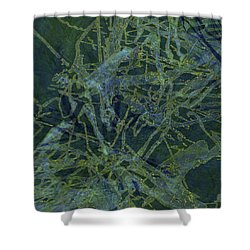 Edition 1 Watercolor Moss Shower Curtain