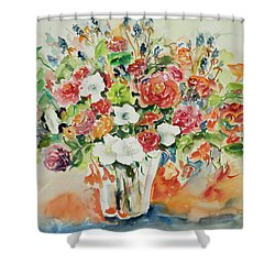 Watercolor Series 23 Shower Curtain