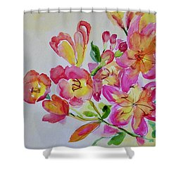 Watercolor Series No. 225 Shower Curtain