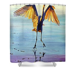 Waterdance Shower Curtain by AnnaJo Vahle