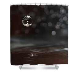 Waterdrop Shower Curtain