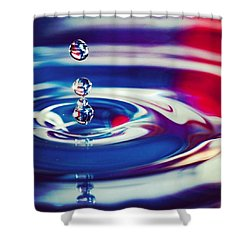 C'est La Vie Or Go With The Flow Shower Curtain by Jeff Foliage