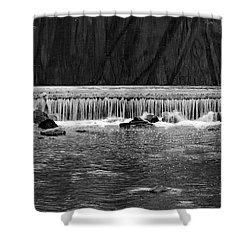 Waterfall 002  Shower Curtain