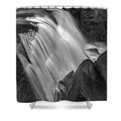 Waterfall 1577 Shower Curtain by Chris McKenna