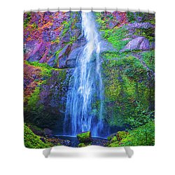 Waterfall 3 Shower Curtain