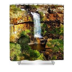 Waterfall Beauty Shower Curtain by Blair Stuart