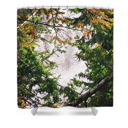 Waterfall Calling My Name Shower Curtain