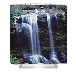 Shower Curtain featuring the photograph Waterfall  by Debra Crank