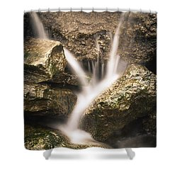 Waterfall Detail  Shower Curtain