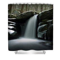 Waterfall From A Dream Shower Curtain