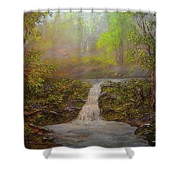 A Place Of Peace  Shower Curtain