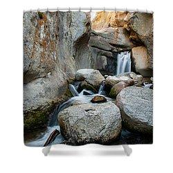 Waterfall In The Buttermilks Shower Curtain