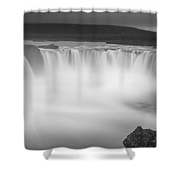 Waterfall Of The Gods Iceland Shower Curtain