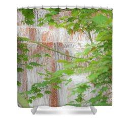 Waterfall, Portland Shower Curtain