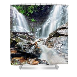 Waterfall Silence Shower Curtain