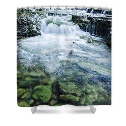 Waterfall Wonderland Shower Curtain