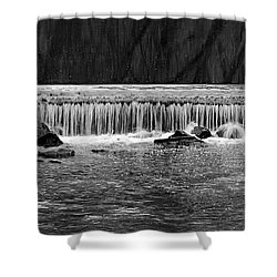 Waterfall004 Shower Curtain by Dorin Adrian Berbier