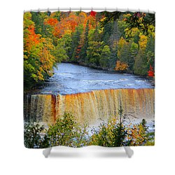 Waterfalls Of Michigan Shower Curtain