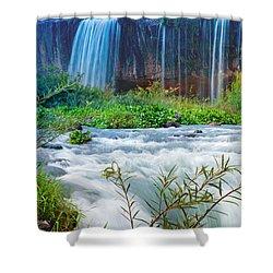 Waterfalls Shower Curtain