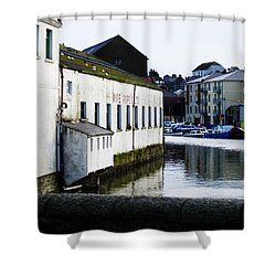 Waterfront Factory Shower Curtain
