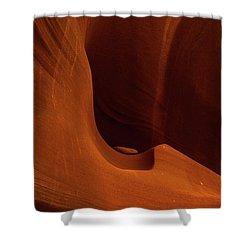 Waterholes Canyon Shower Curtain