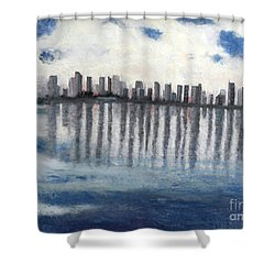 Water,ice,snow And More Shower Curtain