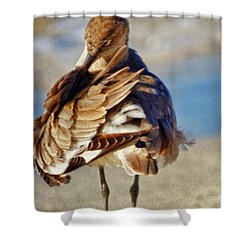 Waterless Bath Day Shower Curtain
