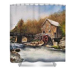 Watermill Shower Curtain