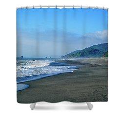 Water's Edge Shower Curtain