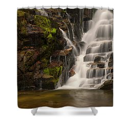 Water's Staircase Shower Curtain
