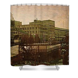 Watershed Shower Curtain by David Blank