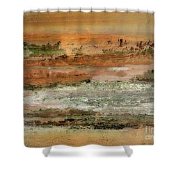 Waterworld #0955 Shower Curtain
